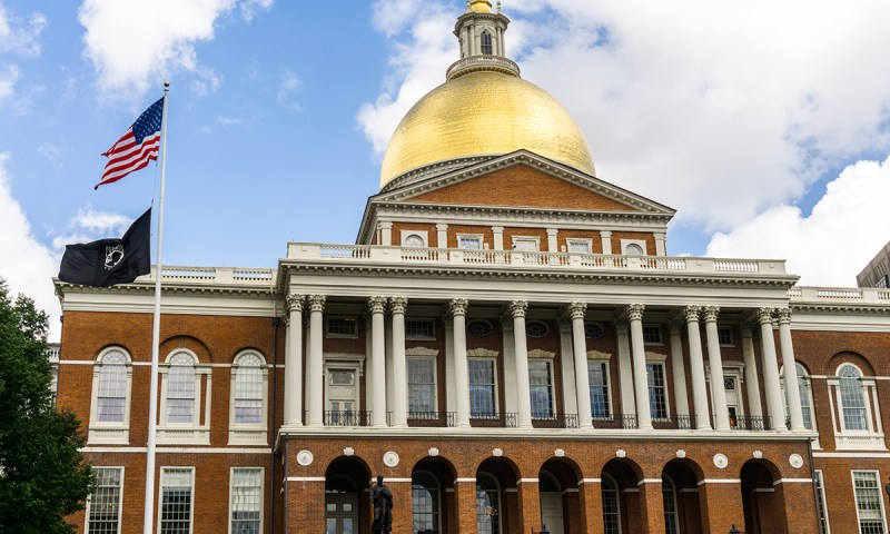 Visit the Boston State House on the Freedom Trail.