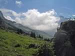 Bergsturzgebiet Äbnet
