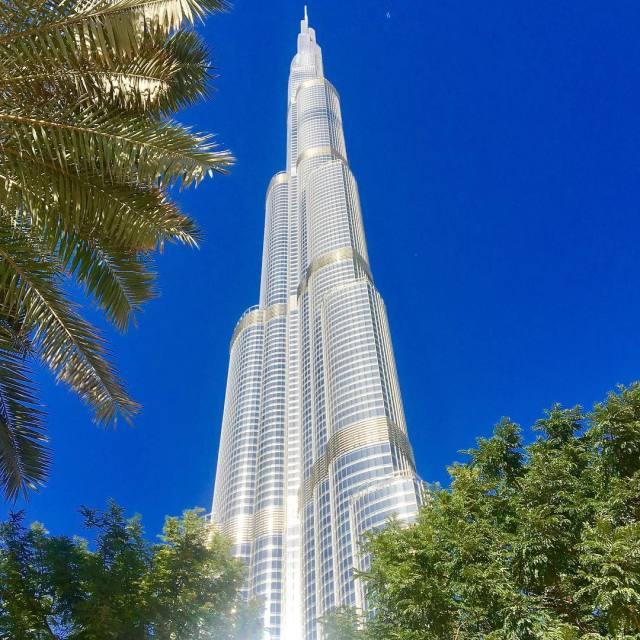 Never tire of this shiny view  Dubai UAE hellip