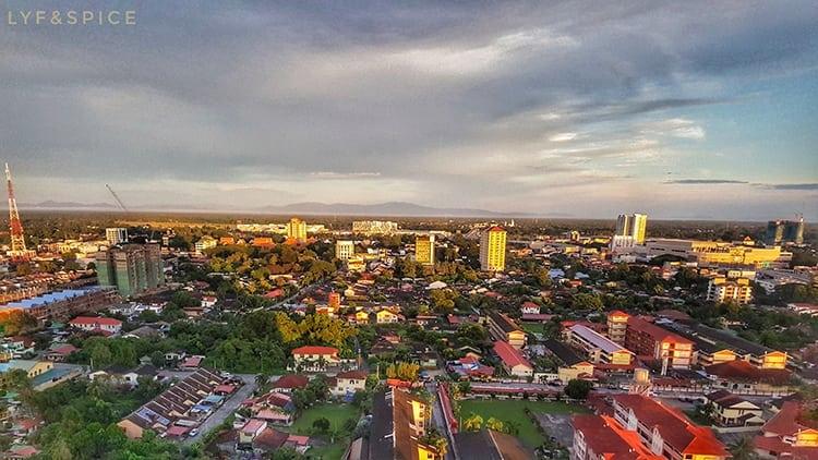 Sunrise in Kota Bharu in Malaysia