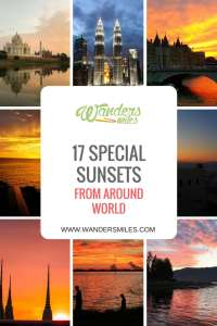 Discover 17 special sunsets from around the world