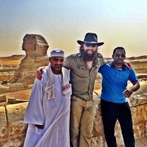 Adam Wattenbarger in Egypt