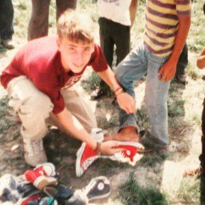Adam Wattenbarger in Mexico at 19