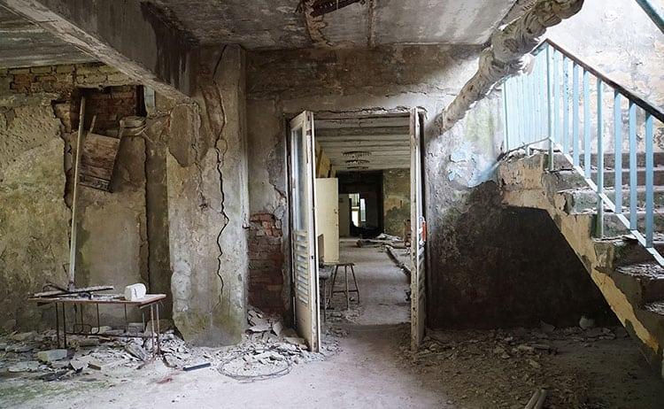 Abandoned school at Pripyat