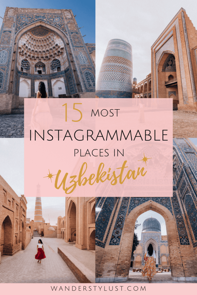 15 Most Instagrammable Places in Uzbekistan