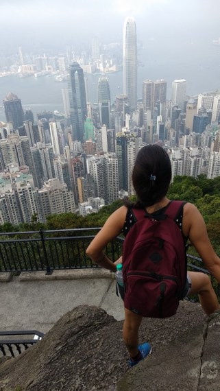 Awesome view atop The Peak