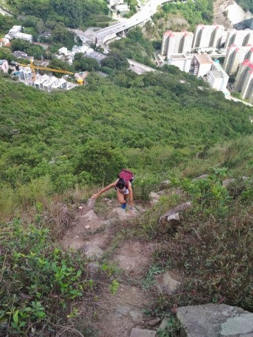 suicide cliff hike kowloon