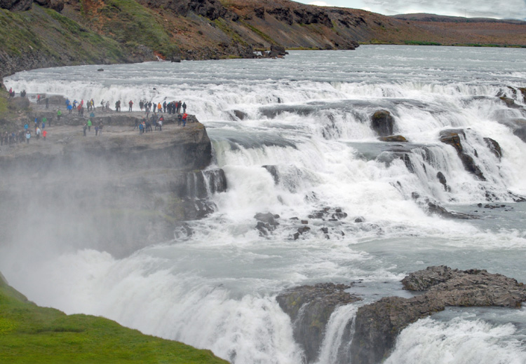 Image of Dettifoss Waterfall in Iceland