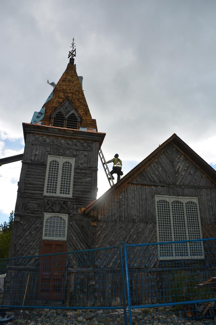 An image of St. Andrews Presbyterian Church in Bennett, BC