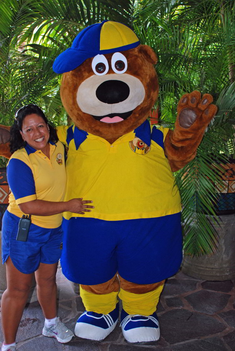 An image of the mascot at Occidental Grand Cozumel in Cozumel, Mexico - All Inclusive Family Vacations