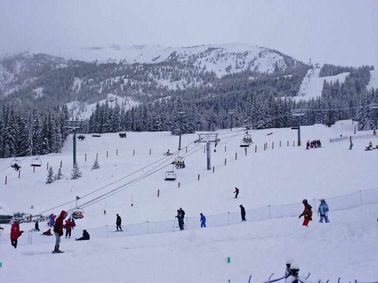 An image of Marmot Basin Ski Resort in Jasper, Alberta, Canada. Jasper in winter - 12 stunning photographs