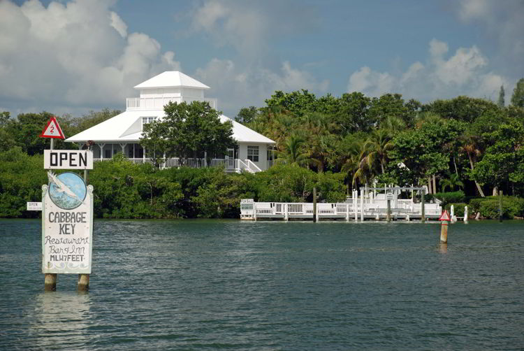 An image of Cabbage Key Inn and Restaurant - Cabbage Key Cheeseburger in Paradise