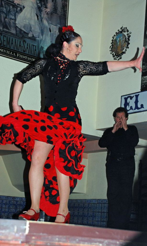 An image of a Flamenco Dancer in Spain - Trafalgar Tours Europe