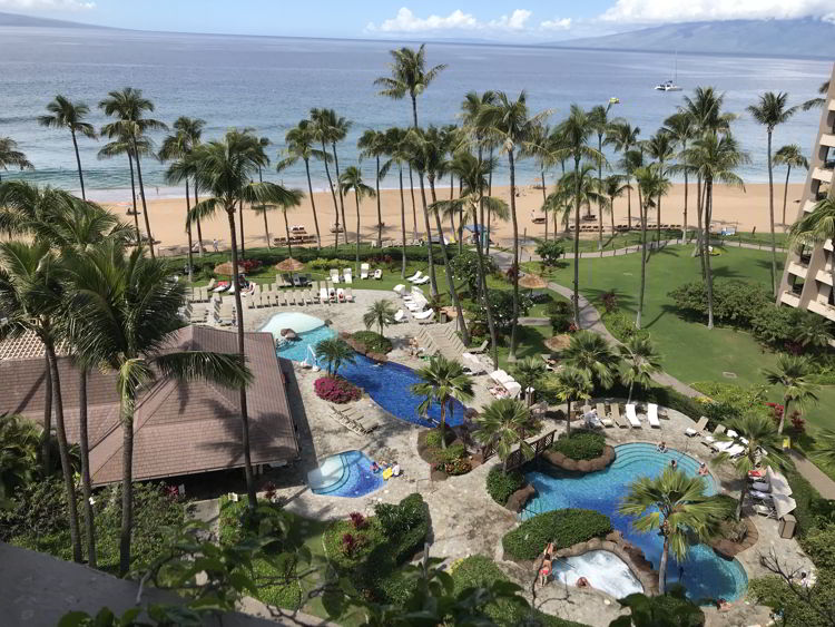 An image of Kāʻanapali Beach.