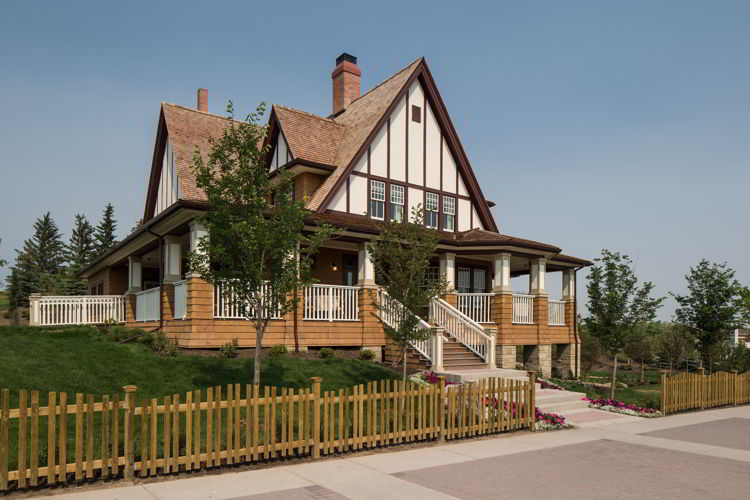 An image of the Famous 5 Centre at Heritage Park in Calgary, Alberta Canada