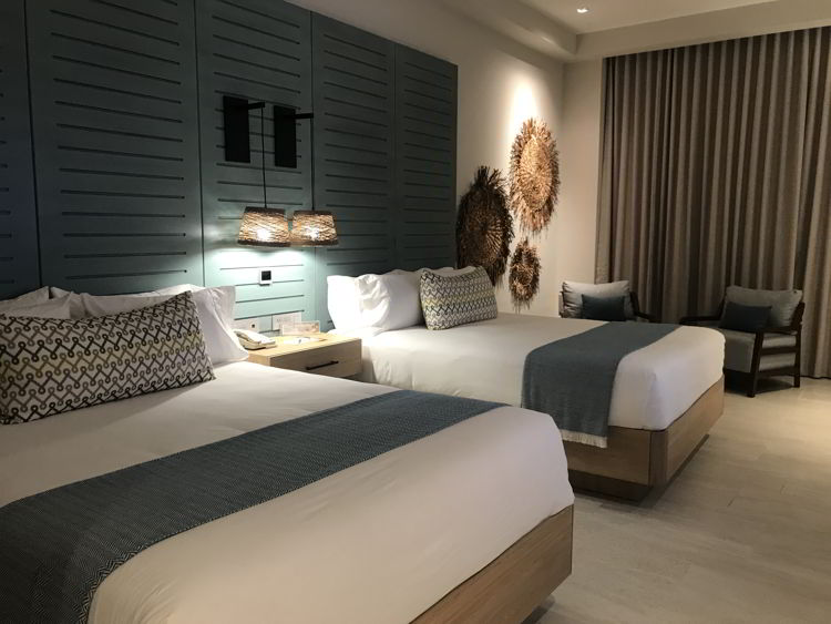 An image of the swim up junior suite room at the Lopesan Costa Bavaro resort in Punta Cana, Dominican Republic.