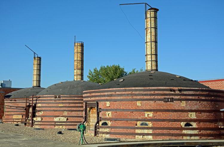 An image of the Medalta site in Medicine Hat, Alberta, Canada.
