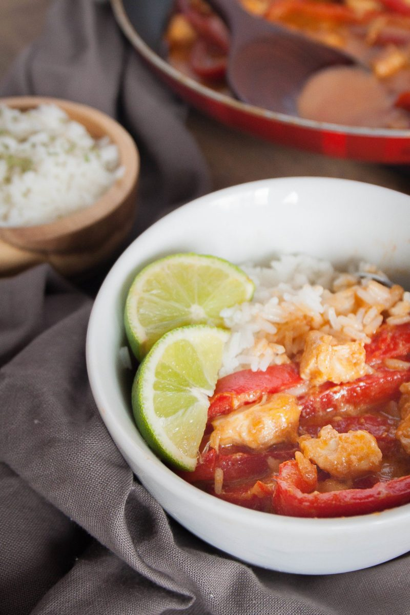 Red Thai Chicken Curry