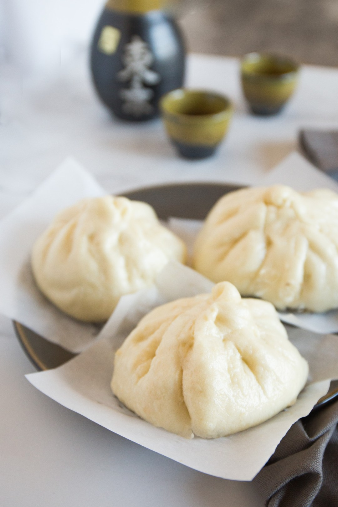 Steamed Japanese Beef Buns are soft, fluffy buns filled with a satisfying combination of meat and vegetables. So easy and delicious! | wanderzestblog.com