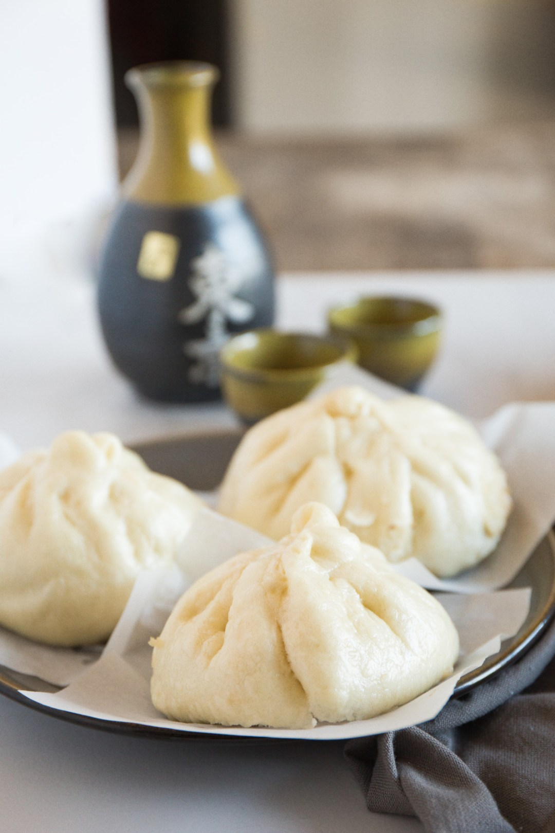 Be steamed meat buns angrily