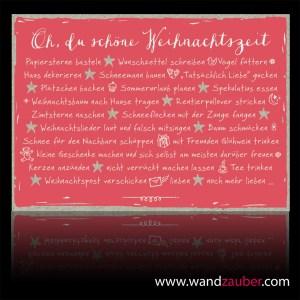 wandzauber-postkarte-weihnachten oh du schöne weihnachtszeit