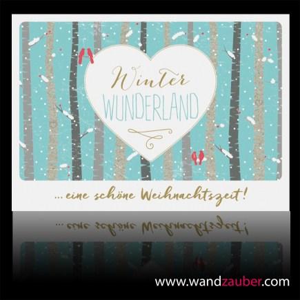 wandzauber-postkarte-weihnachten winter wunderland