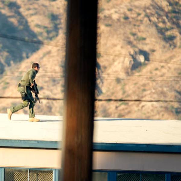 APTOPIX California Shooting-Poll Lockdown-The Latest_219354