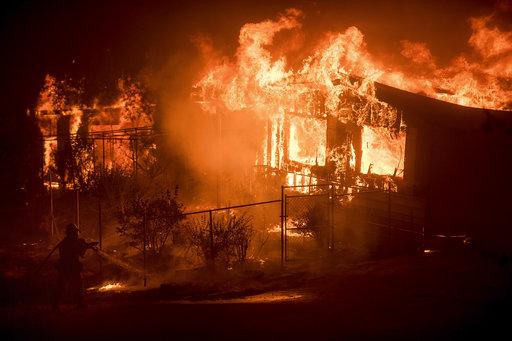 APTOPIX Western Wildfires California_269571