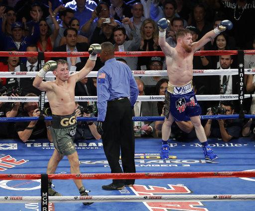 Alvarez Golovkin Boxing_283904