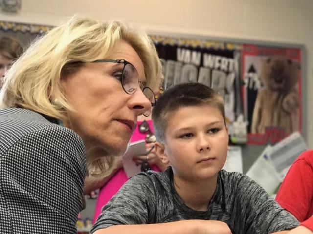Education Secretary Betsy DeVos Van Wert Schools_255184