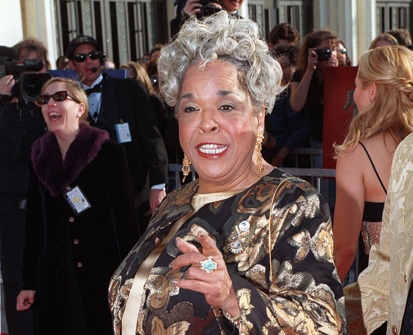 Della Reese Of Tv S Touched By An Angel Hasd At 86