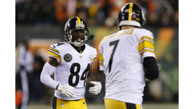 Antonio Brown, Ben Roethlisberger_305346