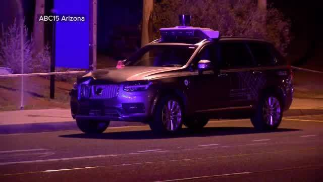 Uber Self-Driving Car Kills Pedestrian