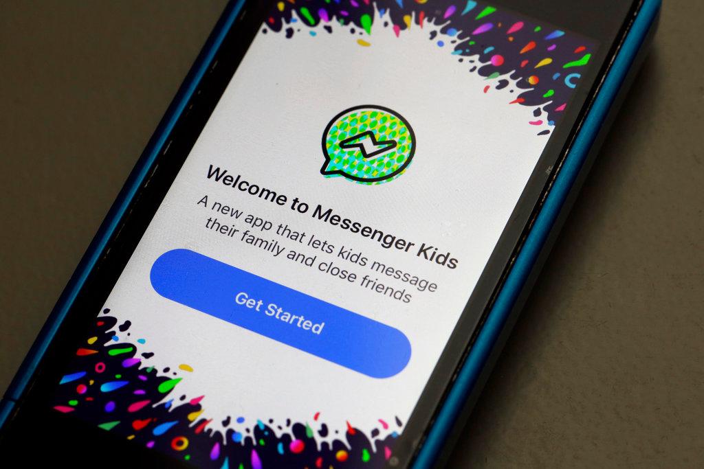 Facebook messenger for kids app