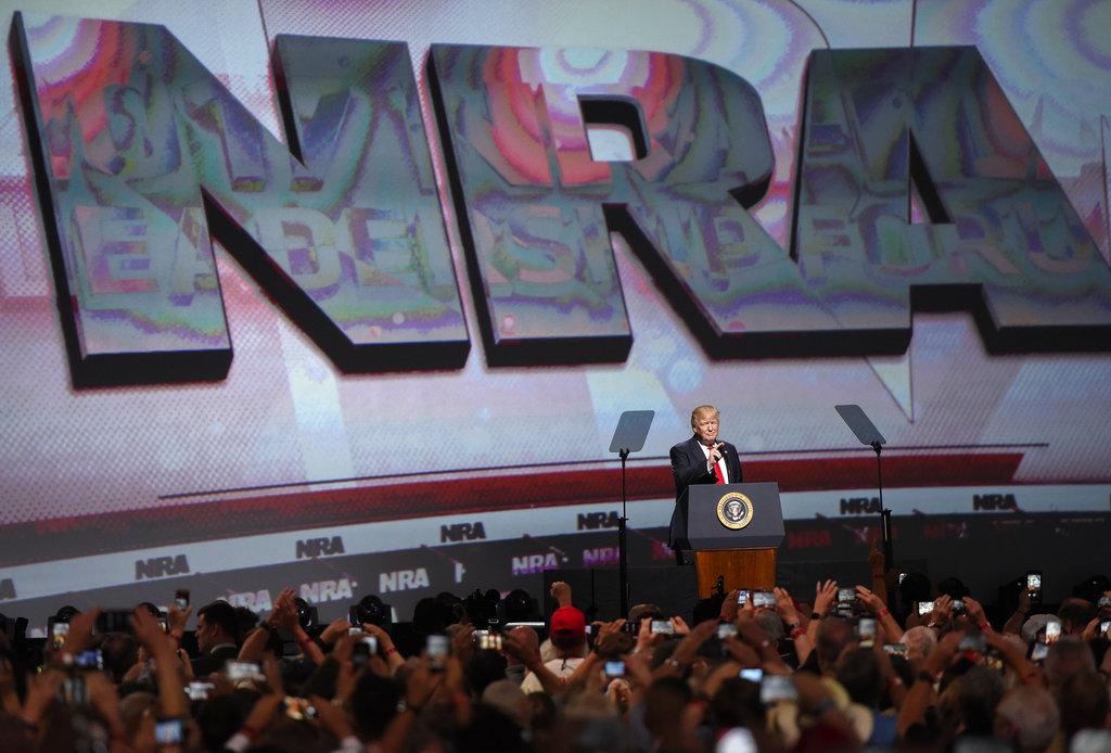 NRA Meeting Gun Politics