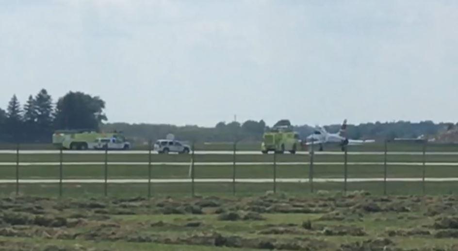 fighter jet emergency landing