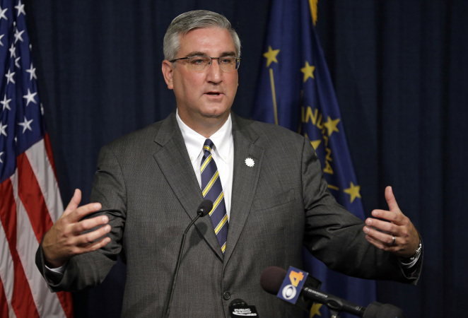 Indiana Governor Eric Holcomb