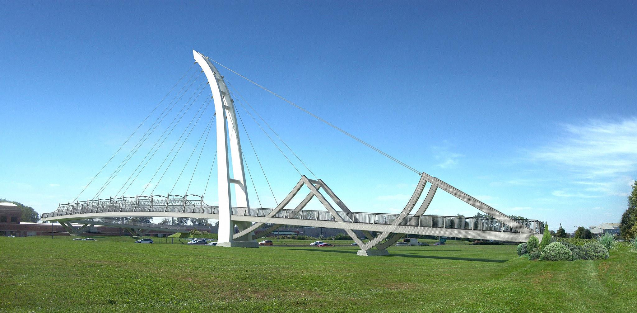 Parker Cole Crossing bridge IPFW Ivy Tech_306929