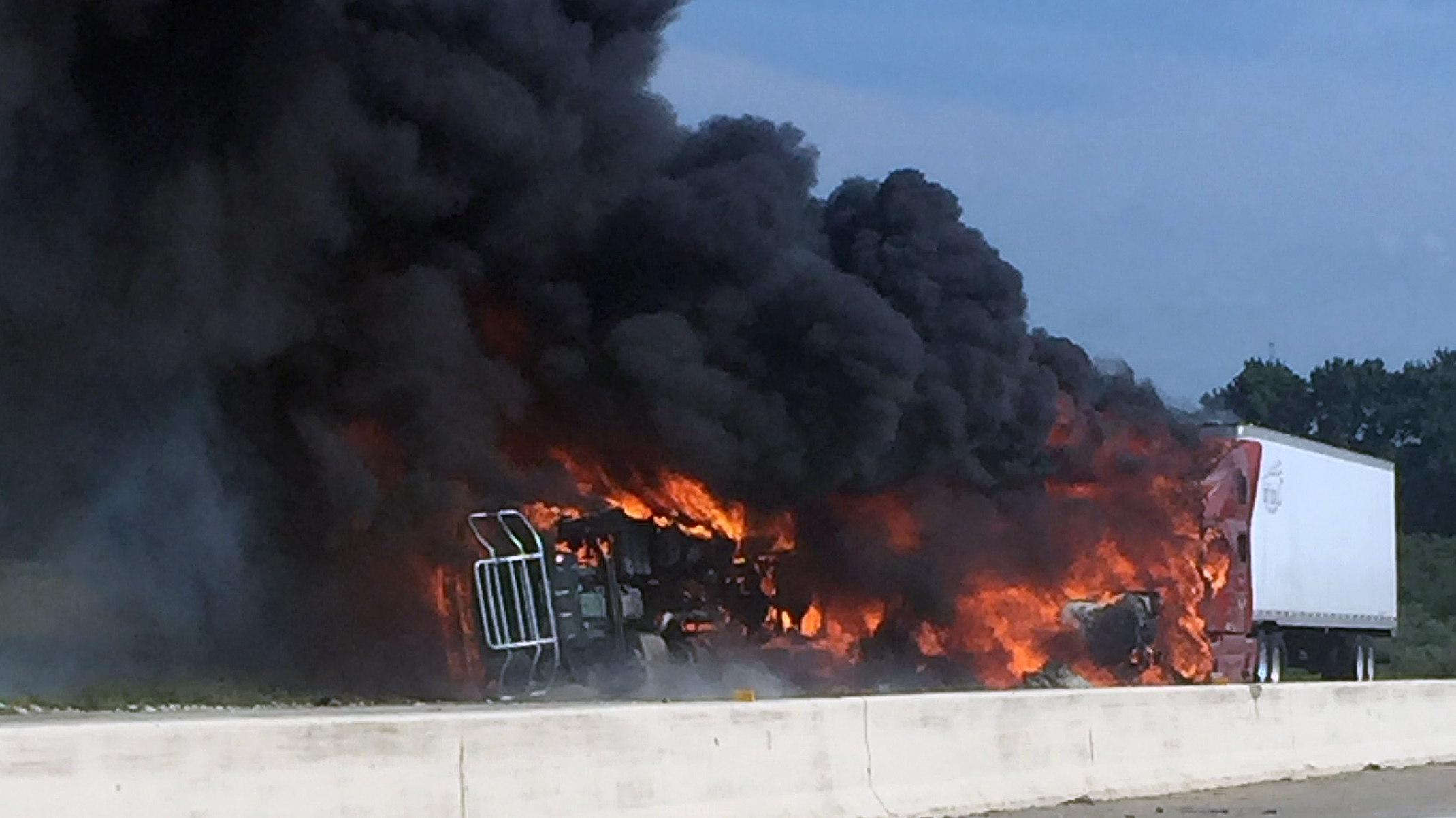 Interstate 469 semi fire_1533246060447.jpg.jpg