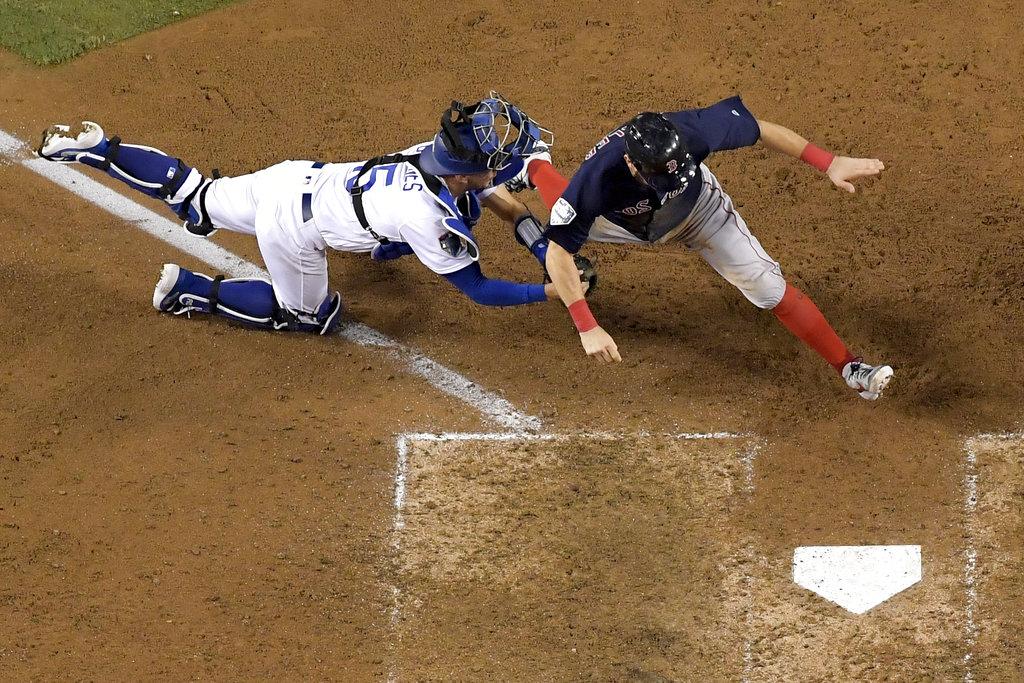 APTOPIX World Series Red Sox Dodgers Baseball_1540630652020