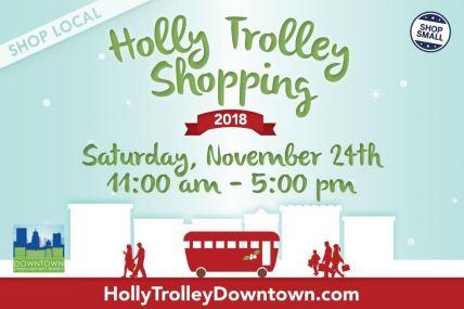 Holley Trolley Shopping