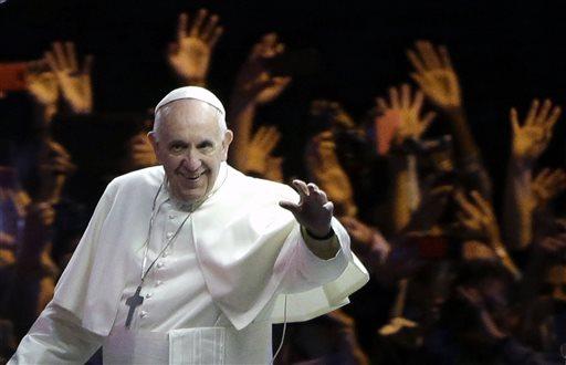 APTOPIX US Pope Francis_137763