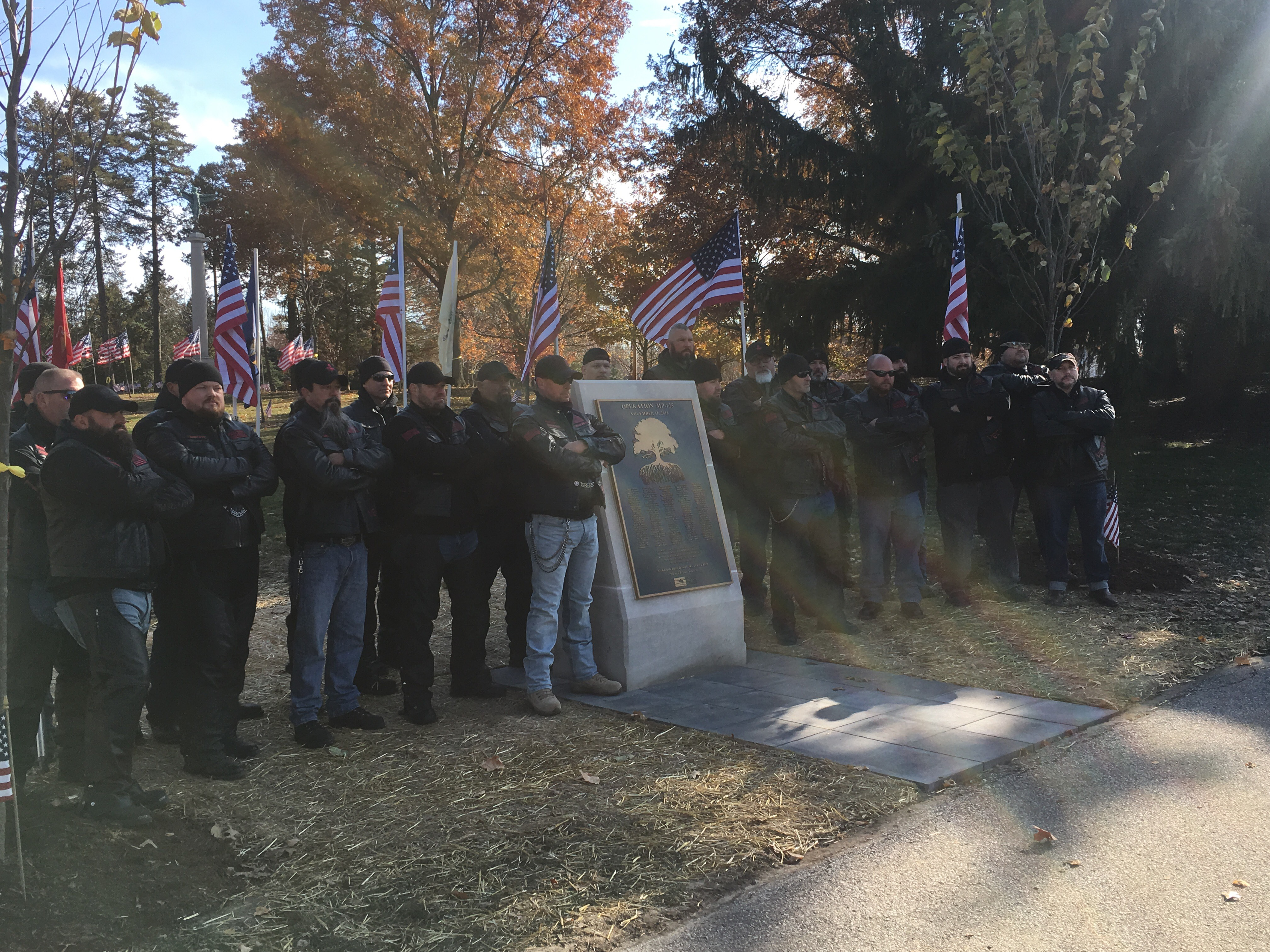 Plaque Honoring Local Heroes Unveiled At Memorial Park