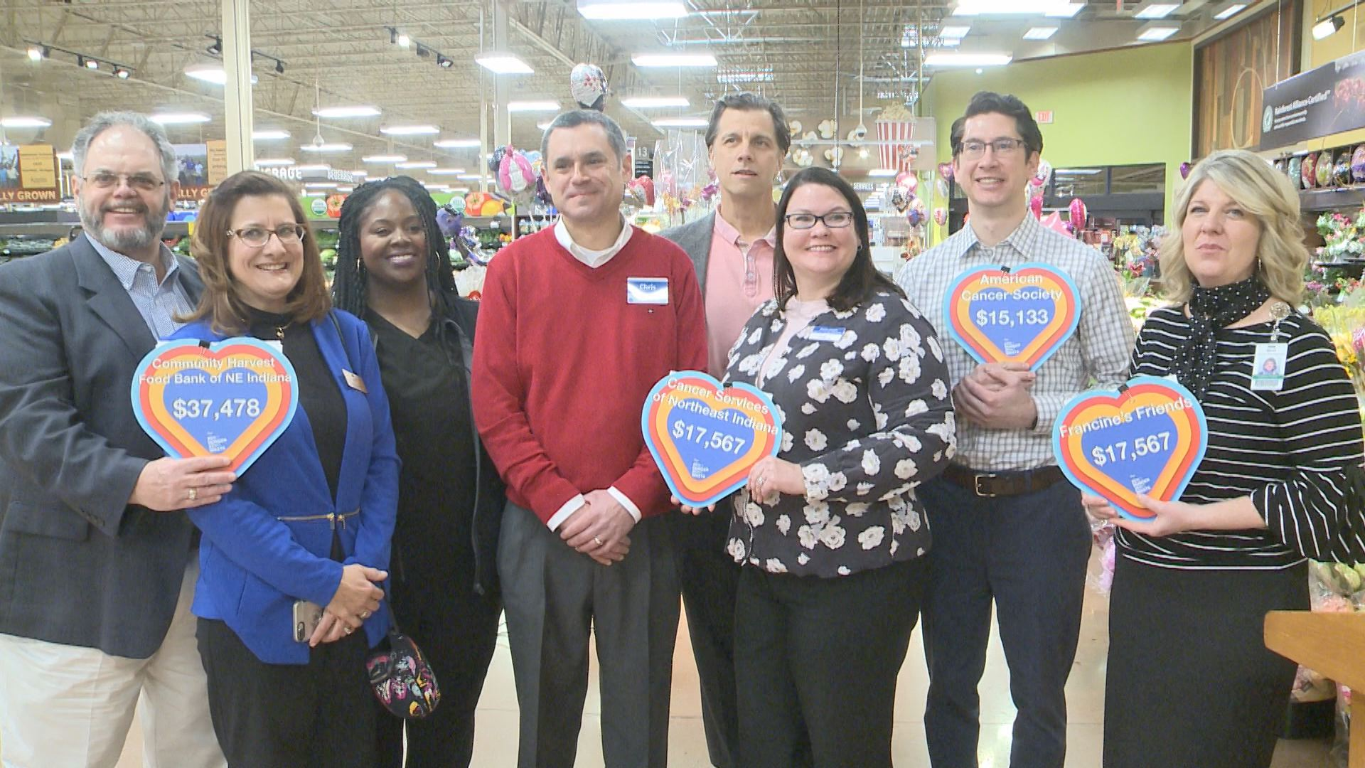 Kroger Share the Love donation