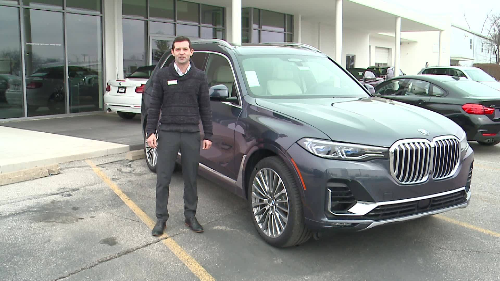 Two-Minute Test Drive: 2019 BMW X7 50i