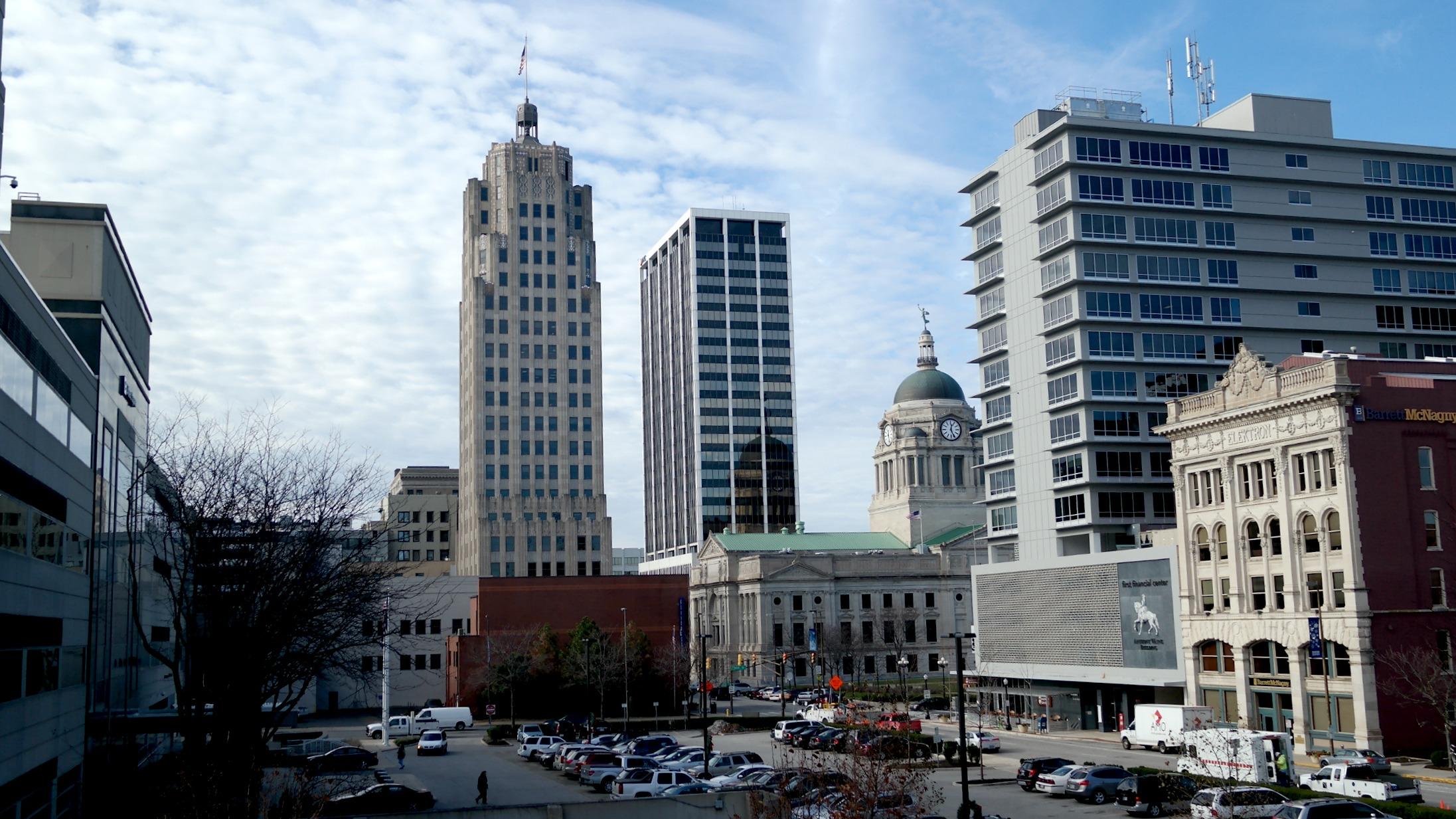 Downtown Fort Wayne Summit City skyline_175780