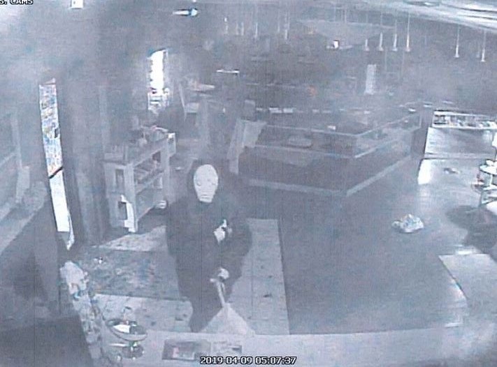 Marion Jewelry Store Robbery