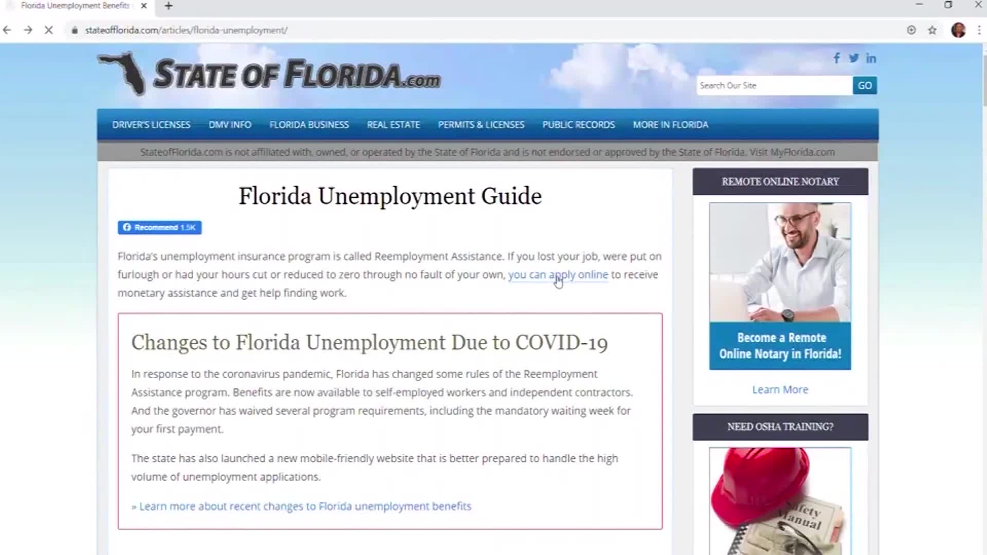 Florida Unemployment Who S To Blame For System Failures