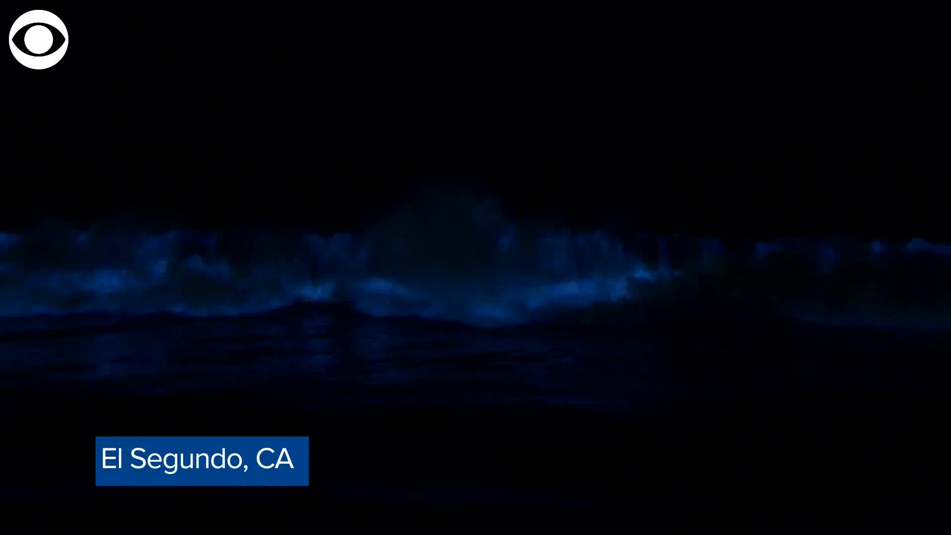 Microscopic Marine Algae Causes Waves To Give Light