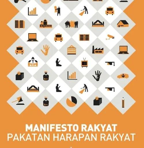 [ Info PRU 13 / Politik ] Manifesto PR Pakatan Rakyat Pilihan Raya Umum ke 13